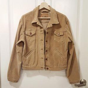 Levi Strauss Tan Corduroy Jacket